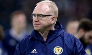 Alex McLeish has been sacked as Scotland head coach