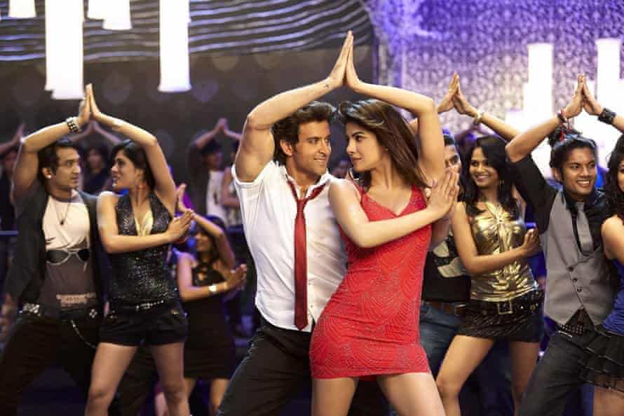 Priyanka Chopra Jones with Hrithik Roshan in Krrish 3