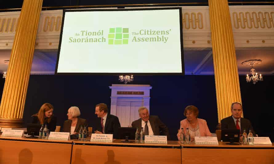Citizens' assembly for the Irish abortion referendum