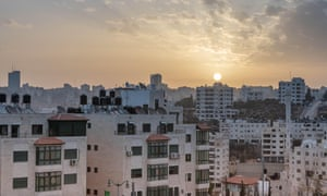Ramallah, a Palestinian city in the central West Bank
