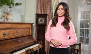 Michelle Keegan at the Pankhurst Centre in Manchester during her episode of Who Do You Think You Are?