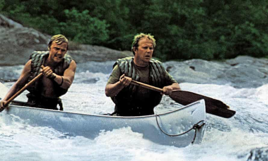 Ned Beatty, right, and Jon Voight in Deliverance, 1972. He is one of four friends who go canoeing in the Georgia wilderness, only to find that the locals are even more hostile than the landscape.