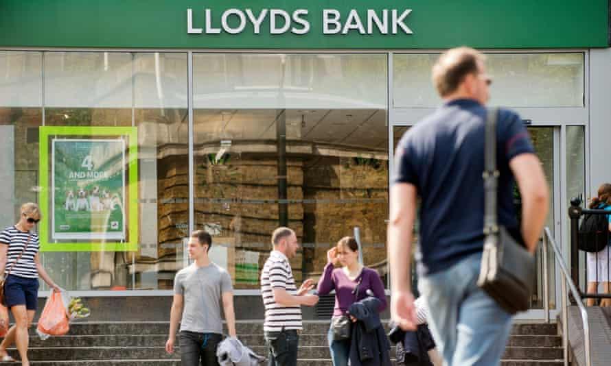 Lloyds Bank in Islington, London.