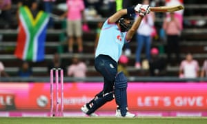 Moeen Ali hit the winnings runs as England just about squeezed home for the win.