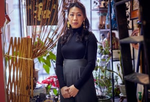 Diane Wong, a first-generation Chinese American