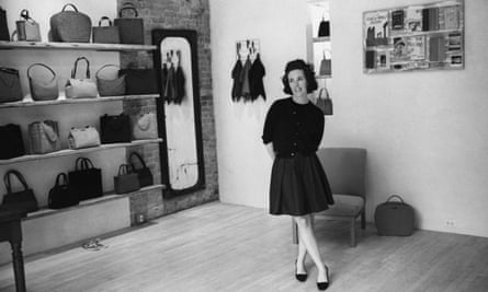 Kate Spade inside her New York flagship store in 1996.