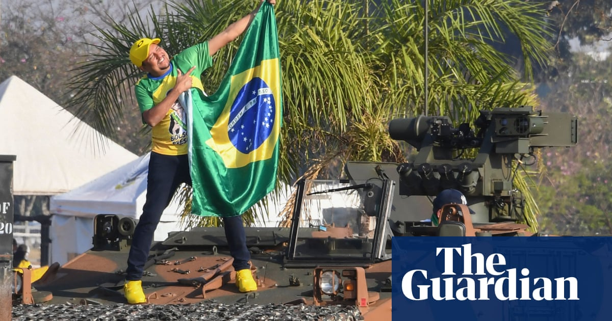 Bolsonaro diehards take to streets of Brazil to urge firing squads and coups