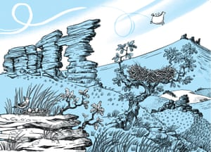 Illustration by Sarah McIntyre for The Legend of Kevin