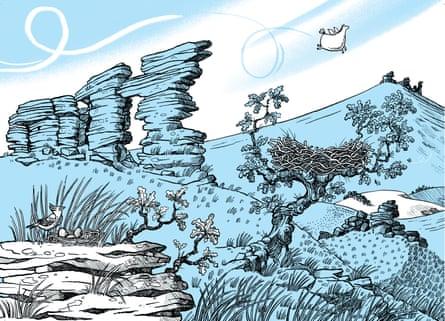 Illustration by Sarah McIntyre for The Legend of Kevin