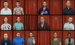 Stand up and be counted: some of the contributors interviewed for the documentary Chemsex.