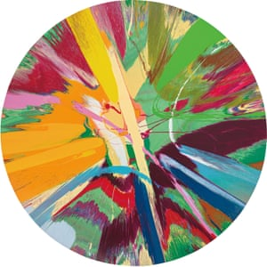 A spin artwork, which is also going under the hammer.