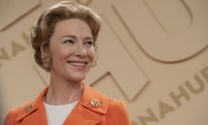Cate Blanchett as Phyllis Schlafly in Mrs America, a flawlessly executed series.