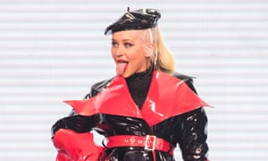 Christina Aguilera at the SSE Hydro, Glasgow.