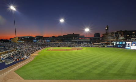 Minor league baseball parks are at the heart of many communities across North America