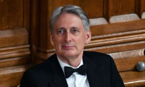 The chancellor Philip Hammond, this week at a banquet for Commonwealth heads. He faces questions over the National Audit Office report on the inflated Brexit bill.