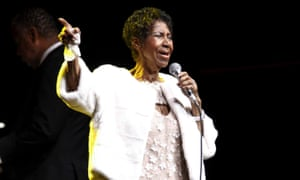 Franklin's last performance, at the Elton John AIDS Foundation's 25th Anniversary Gala, New York City, 7 November 2017.