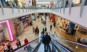 Queens Arcade Shopping Centre in Cardiff. Rising prices in shops dampened appetite for spending in the first quarter.