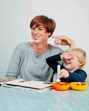 Nadja Ensink-Teich and her daughter Fleur