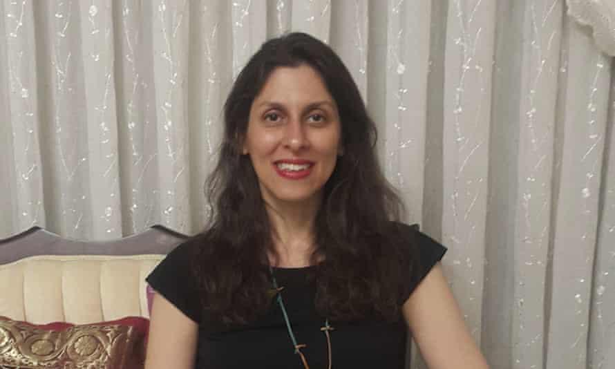 Nazanin Zaghari-Ratcliffe in March 2020 in Iran.