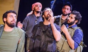 Cancelled in New York … The Siege at Battersea Arts Centre performed by Freedom Theatre.