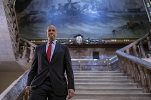 Cory Booker on Capitol Hill earlier this month.