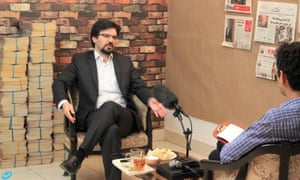 Iranian journalist Yashar Soltani