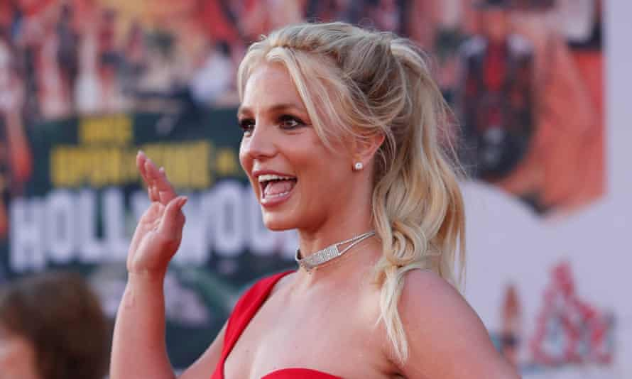 'The story shifted overnight – she had been too mature to be a girl, but she was too young to be a woman': Britney Spears.