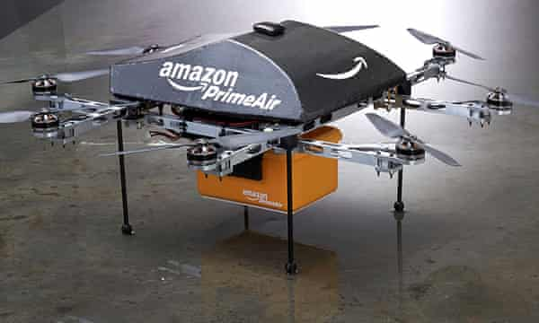 Talwar says that people could have a 'portfolio career', such as housing Amazon delivery drones.