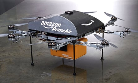 Regulations now state that the combines drone and package must weigh less than 55lbs.