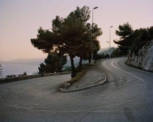 Grace Kelly, Route de la Turbie - Cap d'Ail (Alpes-Maritimes)
