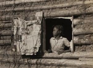Arthur Rothstein - Girl at Gee's Bend, Alabama [Artelia Bendolph], April 1937