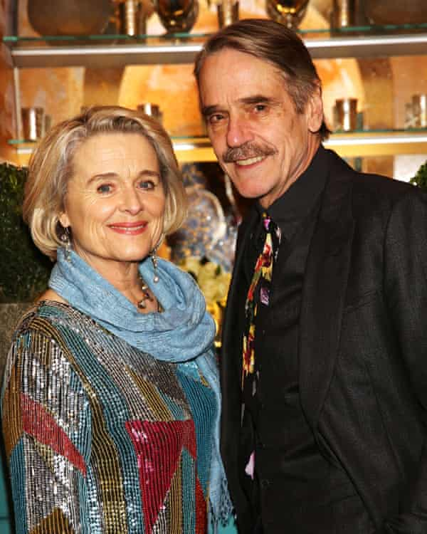 Jeremy Irons and Sinéad Cusack