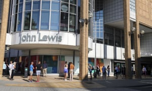 A John Lewis store. The John Lewis Partnership (JLP) has told staff that it is proposing around 1,000 redundancies across its department stores and Waitrose supermarkets.