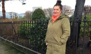 Voter in Dublin, Aisling Caulfield.
