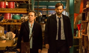 Broadchurch: Olivia Colman as DS Ellie Miller and David Tennant as DI Alec Hardy