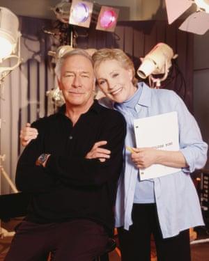 Christopher Plummer and Julie Andrews in On Golden Pond, 2001
