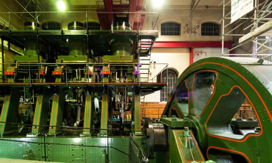 River Don steam engine at Kelham Island Museum.