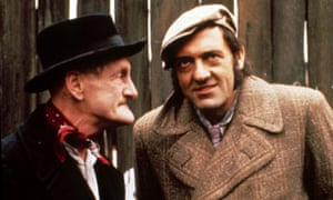 Wilfred Bramble and Harry H Corbett as Steptoe and Son.