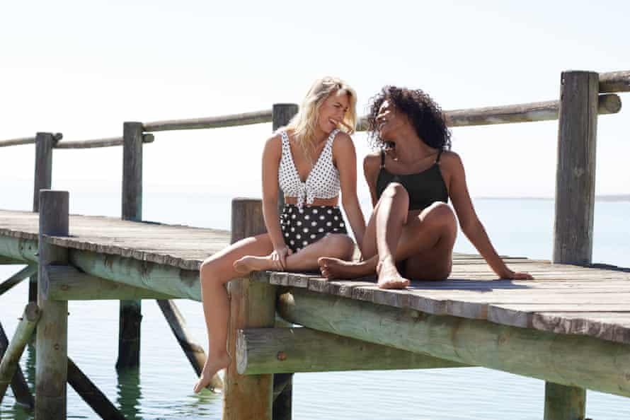 Bravissimo specialises in swimwear for women with larger busts