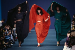 Kenzo's spring-summer 1986 collection. A year after showing in Paris, the brand launched a children's line called Kenzo Jungle