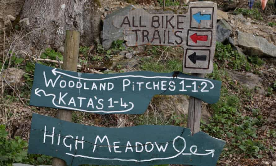 sign at comrie croft