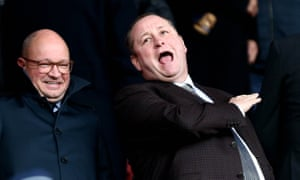 Mike Ashley has been Newcastle's owner for 12 years.