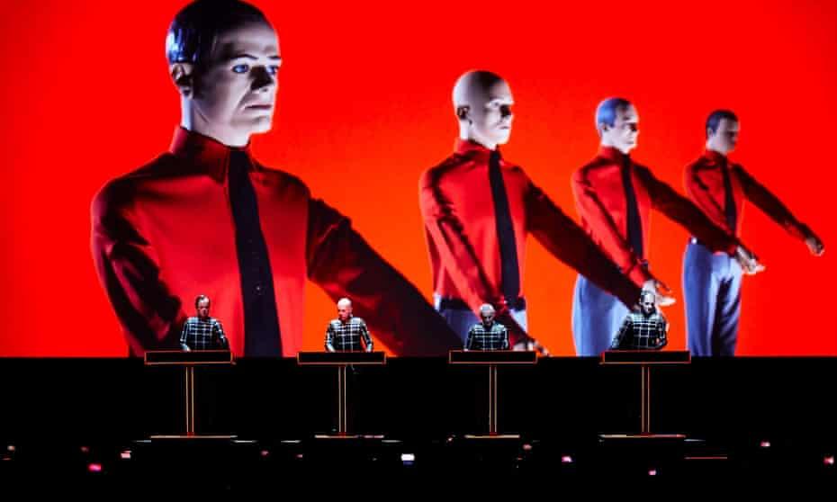 Kraftwerk display at the Design Museum.