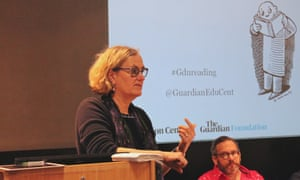 Claire Armitstead, associate culture editor discusses the importance of reading at the Guardian Education Centre Reading for pleasure conference 28 March 2019