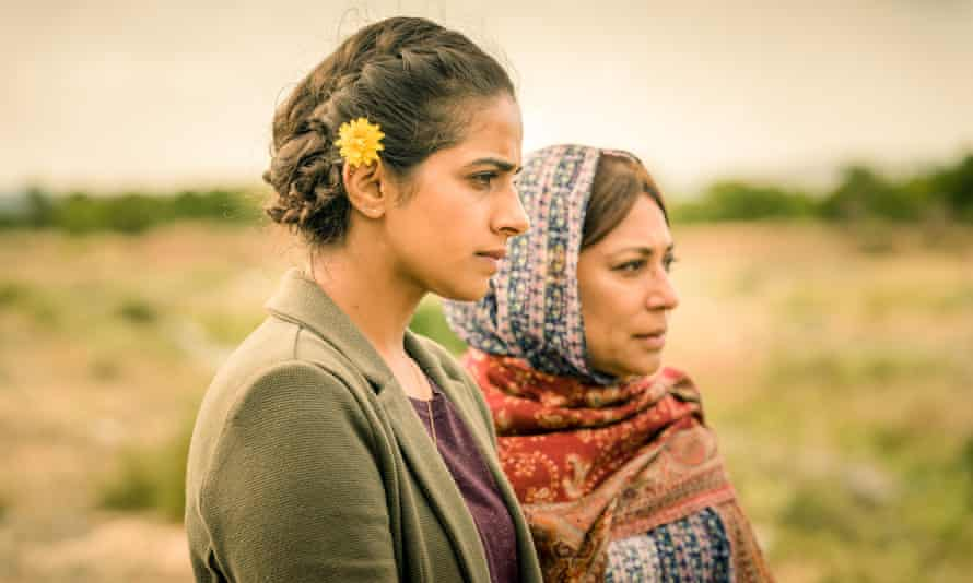 Yaz (Mandip Gill) and Hasna (Shaheen Khan) in Demons of the Punjab