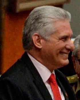 Miguel Diaz-Canel.