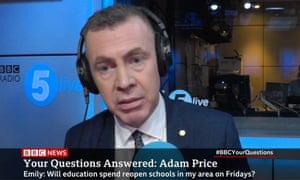 Adam Price.