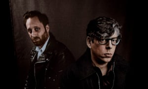 Refocused … Dan Auerbach and Patrick Carney.