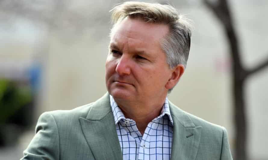 Labor's climate spokesman Chris Bowen.