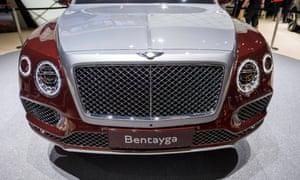Vlad Luca Filat bought £200,000 Bentley Bentayga in Mayfair.